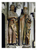 Count Ekkehard and Countess Uta, Donor Figures from the West Choir, 13th Century Giclee Print