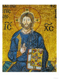 Christ, from the Votive Mosaic in the South Gallery, 11th Century Reproduction procédé giclée