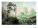 Landscape in the Fog Reproduction procédé giclée par William Turner