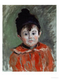 Portrait of Michel with Bonnet and Pompon, 1880 Giclee Print by Claude Monet