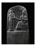 The Code of Hammurabi (1792-1750 BCE), 282 Laws Giclee Print