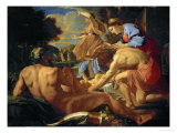 Moses Exposed by His Mother Giclee Print by Nicolas Poussin