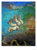 Les Chevaux D'Apollo Giclee Print by Odilon Redon