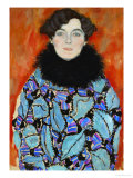 Mrs. Johanna Staude Giclee Print by Gustav Klimt