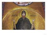 The Hermit Hosios Loukas, Mosaic Giclee Print