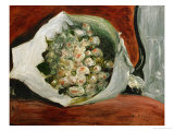 Bouquet in a Loge Giclee Print by Pierre-Auguste Renoir