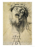 Head of the Dead Christ, 1503 Giclee Print by Albrecht Dürer