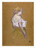 Lucie Bellanger, circa 1895-1896 Giclee Print by Henri de Toulouse-Lautrec