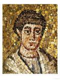 Head of Saint John Mosaic Giclee Print