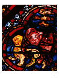 The Animals Leaving Noah&#39;s Ark, Stained Glass Giclee Print