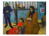 The Studio of Painter Emile Schuffenecker (1851-1934) Impression giclée par Paul Gauguin