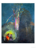 The Flight to Egypt Giclee Print by Odilon Redon