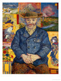 Le Pere Tanguy, c.1887 Giclee Print by Vincent van Gogh