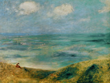 Seashore at Guernsey, 1883 Giclee Print by Pierre-Auguste Renoir