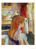 A Woman at Her Window, 1893 Giclee Print by Henri de Toulouse-Lautrec
