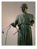The Charioteer of Delphi (Detail) Reproduction procédé giclée