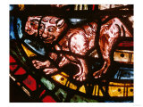 The Animals Leave Noah's Ark, from the Noah Stained Glass Window Giclee Print