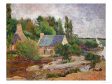 Washwomen in Pont-Aven, 1886 Giclee Print by Paul Gauguin