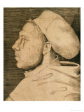 Martin Luther (1483-1546) with Doctor's Cap Gicle-tryk af Lucas Cranach the Elder