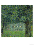 Upper Austrian Farmhouse, 1914 Gicl&#233;e-Druck von Gustav Klimt