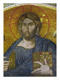 Christ Pantocrator, Mosaic in the Tympanon Between Exonarthex and Narthex, Byzantine, 14th Century Giclee Print