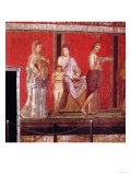 Mural from the Villa of the Mysteries, Pompeii Giclee Print