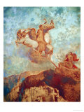 Chariot of Apollo, 1909 Giclee Print by Odilon Redon