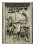 Two Barbarian Prisoners of the Marcomanic War Led Before Emperor Marcus Aurelius (161-180 CE) Giclee Print