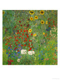 Sunflowers, 1912 Reproduction procédé giclée par Gustav Klimt