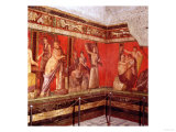 Mural from the Villa of the Mysteries, Pompeii Lámina giclée