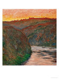 River Bend Giclee Print by Claude Monet