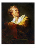 Portrait of a Young Artist Reproduction procédé giclée par Jean-Honoré Fragonard