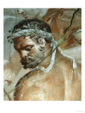 Head of Herakles, Detail from Herakles Finds His Son Telephos in Arcadia Reproduction proc&#233;d&#233; gicl&#233;e