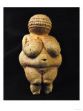 Venus of Willendorf, One of the Many Stone-Age Female Idols of the Great Goddess Reproduction proc&#233;d&#233; gicl&#233;e