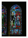 Stained Glass Window from the South Transept of Chartres Cathedral Giclee Print