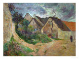 Osney, Mounting Road, 1883 Giclee Print by Paul Gauguin