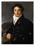 Charles Cordier (1777-1870), Inspecteur Des Domaines a Rome Et Paris, Painted 1811 Giclee Print by Jean-Auguste-Dominique Ingres