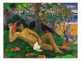 The King's Wife (Te Arii Vahine), 1896 Giclee Print by Paul Gauguin