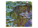 Waterlilies at Giverny, 1918 Giclee Print by Claude Monet