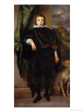 Prince Ruprecht Von Der Rfalz (Palatinate) Giclee Print by Sir Anthony Van Dyck