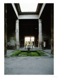 Atrium of the House of the Silver Wedding, 2nd BCE Giclee Print