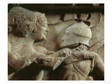 Relief from the North Frieze of the Siphnian Treasury Giclee Print