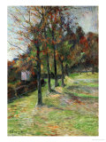 Road in Rouen, II, 1885 Giclee Print by Paul Gauguin