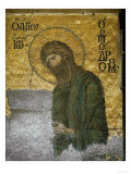 Saint John the Baptist from the Deesis in the North Gallery, Byzantine Mosaic, 12th Century Reproduction procédé giclée