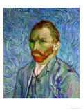 Self-Portrait, c.1889 Giclee Print by Vincent van Gogh