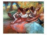 Four Ballerinas Giclee Print by Edgar Degas