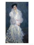 Mrs. Hermine Gallia Giclee Print by Gustav Klimt