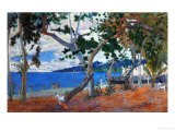 Seashore I, 1887, Island of Martinique Reproduction procédé giclée par Paul Gauguin