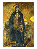 Madonna and Child, Mosaic from the Apse, Shortly after 834 CE Giclee Print