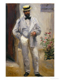 Charles Le Coeur, Architect and Friend of the Painter, 1874 Giclee Print by Pierre-Auguste Renoir